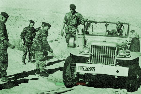 2e CSPL - 2 CSPL - Dodge - Operation - Algeria - Foreign Legion Etrangere - 1961