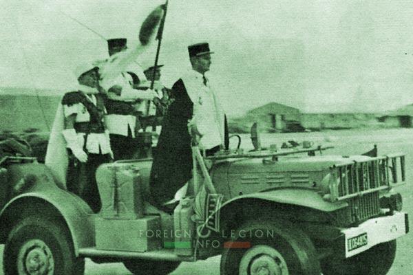 2e CSPL - 2 CSPL - Captain Bonnet - Laghouat - Foreign Legion Etrangere - 1963