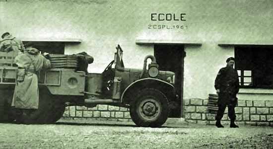 2e CSPL - El Haouita - school - 1961