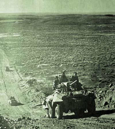 2e CSPL - Sahara - patrolling