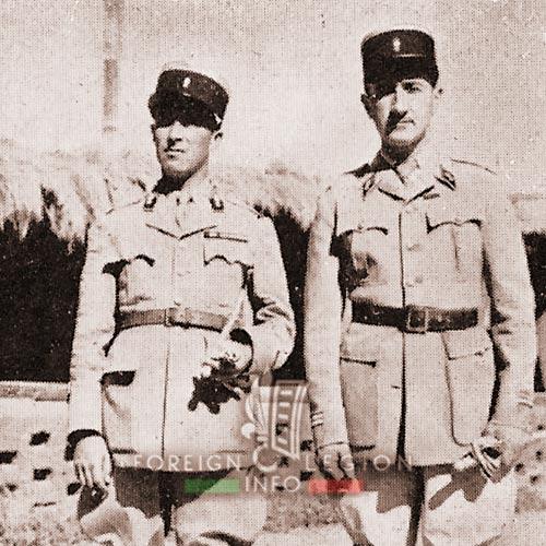 2e REC - 2 REC - Foreign Legion - Legion Etrangere - 1939 - Morocco - 3rd Squadron - Colonna Renucci