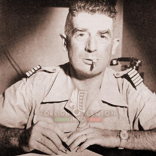 2e REC - 2 REC - Foreign Legion - Legion Etrangere - 1955 - Colonel Legendre