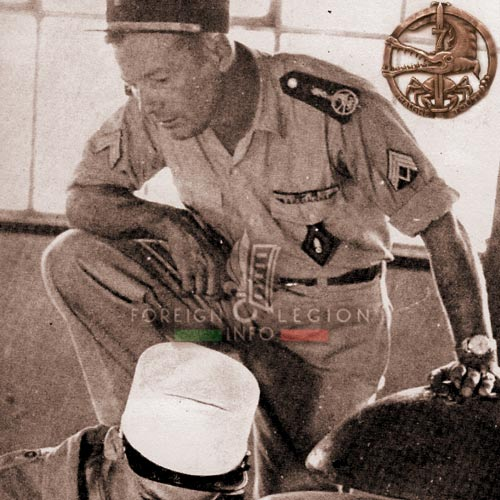 2e REC - 2 REC - Foreign Legion - Legion Etrangere - 1955 - Maintenance - NCO