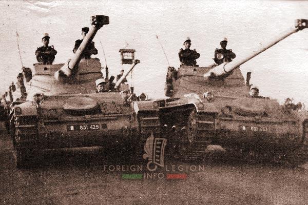 2e REC - 2 REC - Foreign Legion - Legion Etrangere - 1955 - Morocco - Oujda - Parade