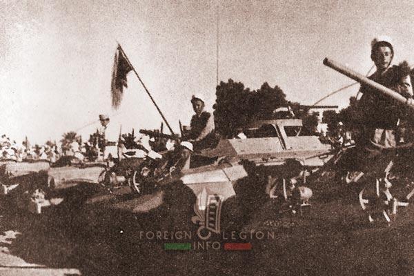 2e REC - 2 REC - Foreign Legion - Legion Etrangere - 1956 - Algeria - Ouargla