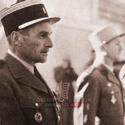 2e REC - 2 REC - Foreign Legion - Legion Etrangere - 1957 - Lieutenant Colonel - Ogier de Baulny