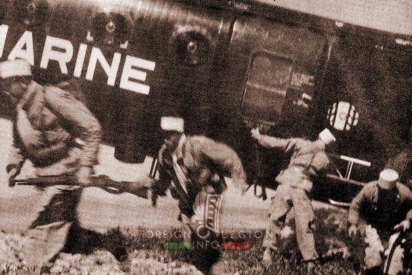 2e REC - 2 REC - Foreign Legion - Legion Etrangere - 1957 - Algeria - Piasecki H-21 - Banana