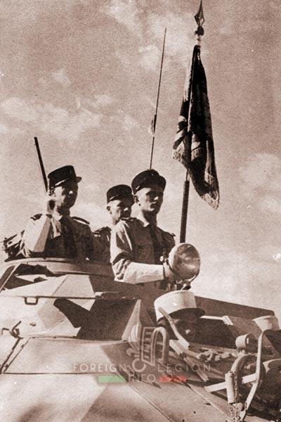2e REC - 2 REC - Foreign Legion - Legion Etrangere - 1957 - Standard