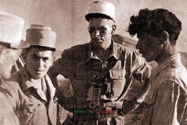 2e REC - 2 REC - Foreign Legion - Legion Etrangere - 1957 - Algeria - Zaccar - Rebel