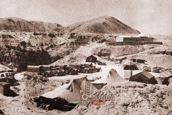 2e REC - 2 REC - Foreign Legion - Legion Etrangere - 1958 - Algeria - Negrine - Camp