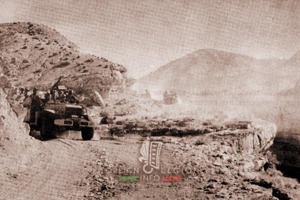 2e REC - 2 REC - Foreign Legion - Legion Etrangere - 1958 - Algeria - Negrine - Patrol