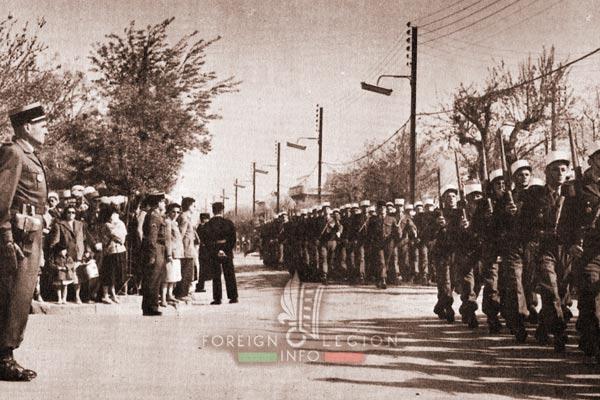 2e REC - 2 REC - Foreign Legion - Legion Etrangere - 1959 - Algeria - Djelfa - Camerone - Ogier de Baulny