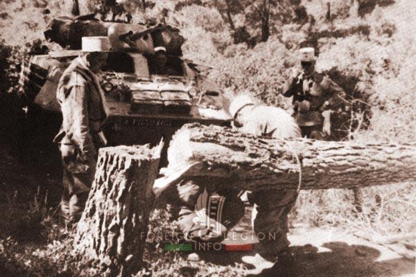 2e REC - 2 REC - Foreign Legion - Legion Etrangere - 1959 - Algeria - AMM8 - Operation