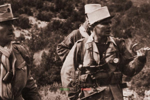 2e REC - 2 REC - Foreign Legion - Legion Etrangere - 1959 - Algeria - Charef - Operation