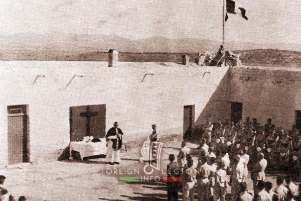 2e REC - 2 REC - Foreign Legion - Legion Etrangere - 1959 - Algeria - Rocher de Sel