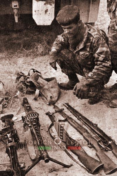 2e REC - 2 REC - Foreign Legion - Legion Etrangere - 1960 - Algeria - Operation - Djebel Saifoun
