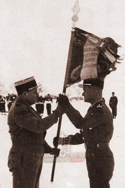 2e REC - 2 REC - Foreign Legion - Legion Etrangere - 1960 - Colonel Morel - Lieutenant Colonel de Coatgoureden