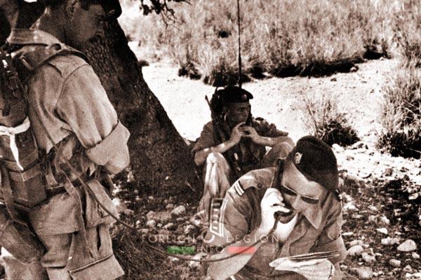 2e REC - 2 REC - Foreign Legion - Legion Etrangere - 1960 - Algeria - Operation - Rouaguib Tennib