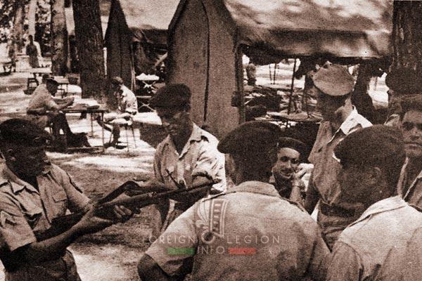 2e REC - 2 REC - Foreign Legion - Legion Etrangere - 1961 - Algeria - Berrouaghia