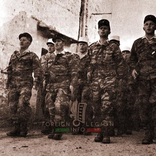 2e REC - 2 REC - Foreign Legion - Legion Etrangere - 1962 - Algeria - Sidi Okba
