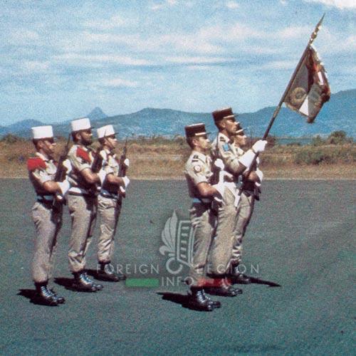 2e REC - 2 REC - Foreign Legion - Legion Etrangere - 1984 - DLEM - Mayotte - Standard
