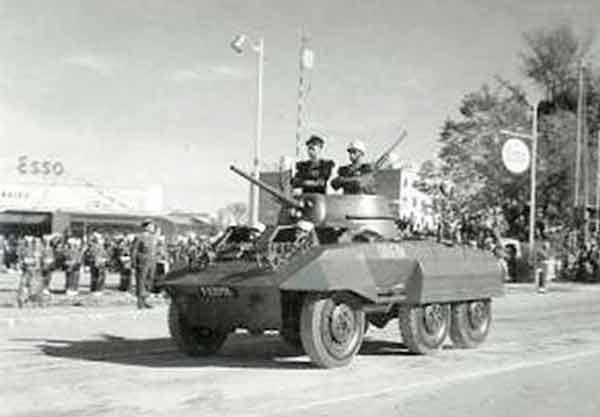 2e REC parade 1960