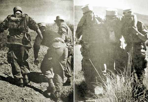 2e REC Djebel Djelfa April 1957 wounded legionnaires