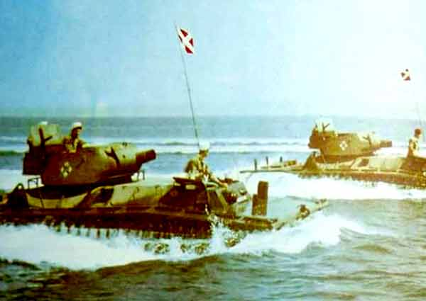 Arzew Amphibious Squadron in Arzew in 1959
