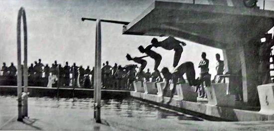2e REC - Oujda - swimming pool - 1956