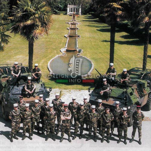 2e REG - 2 REG - Foreign Legion Etrangere - History - 1998 - 1st Platoon - 1ere Section - Castelnaudary