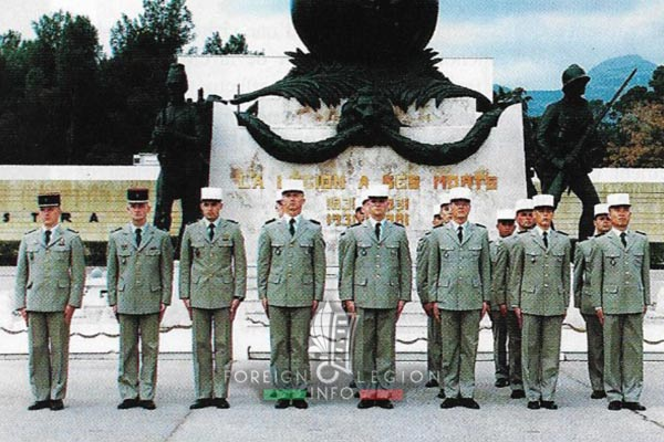 2e REG - 2 REG - Foreign Legion Etrangere - History - 1998 - Aubagne - 1st Platoon - 1ere Section