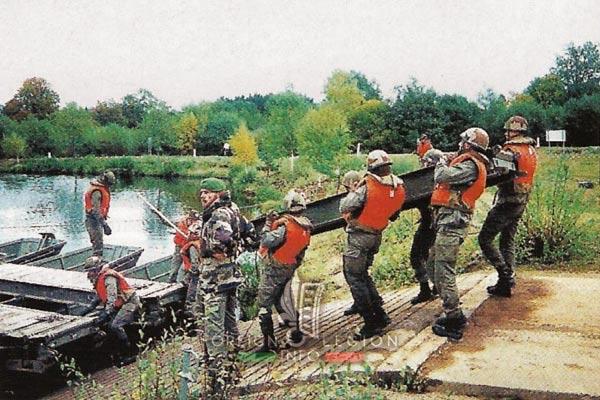 2e REG - 2 REG - Foreign Legion Etrangere - History - 1998 - Engineer Company - Compagnie de Genie - La Courtine