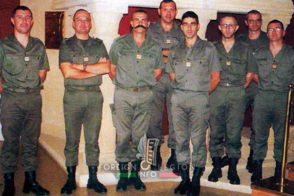 2e REG - 2 REG - Foreign Legion Etrangere - 1998 - Etat Major - HQ Staff - Laudun