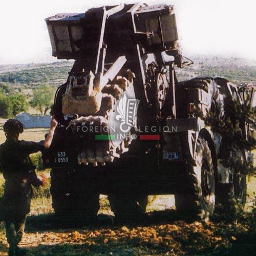 2e REG - 2 REG - Foreign Legion Etrangere - History - 1998 - Vehicle - Engineer Company - Compagnie de Genie - Castelnaudary