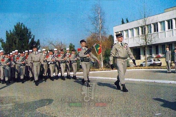 2e REG - 2 REG - Foreign Legion Etrangere - 1998 - Engineer Company - Compagnie de Genie - Saint Barbara - Ste Barbe - Laudun