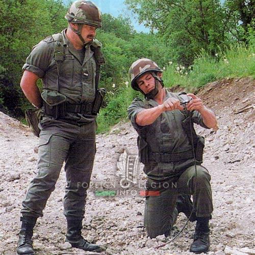 2e REG - 2 REG - Foreign Legion Etrangere - 1999 - 2nd Engineer Company - 2e Compagnie de Genie - Caylus