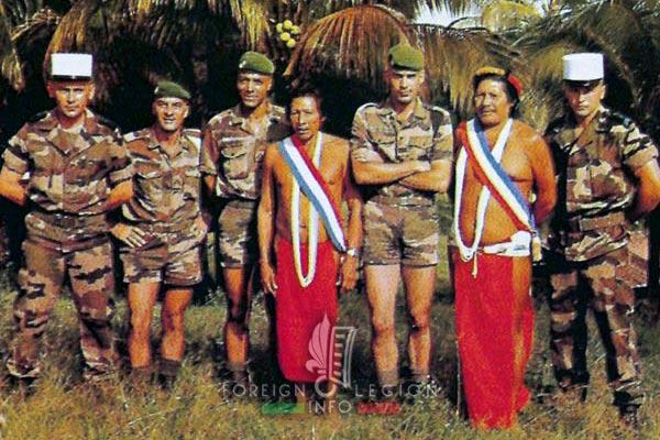 2e REG - 2 REG - Foreign Legion Etrangere - 2000 - French Guiana - Guyane