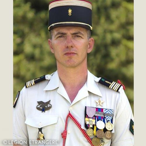 2e REG - 2 REG - Foreign Legion Etrangere - 2015 - Lieutenant Colonel de Sercey