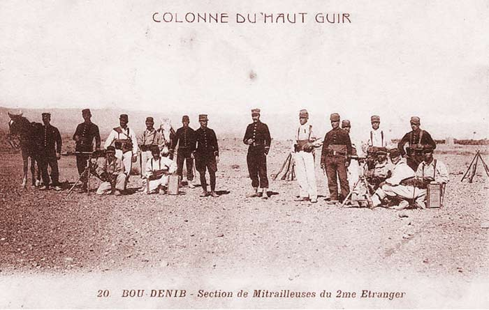 2 REI - 2REI - 2nd Foreign Infantry Regiment - 2nd REI - Legion - Morocco - Bou Denib 1910