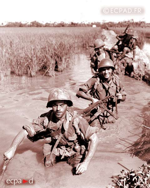 2 REI - 2REI - 2nd Foreign Infantry Regiment - 2nd REI - Legion - Indochina - Vietnam - Operation Brochet 1953