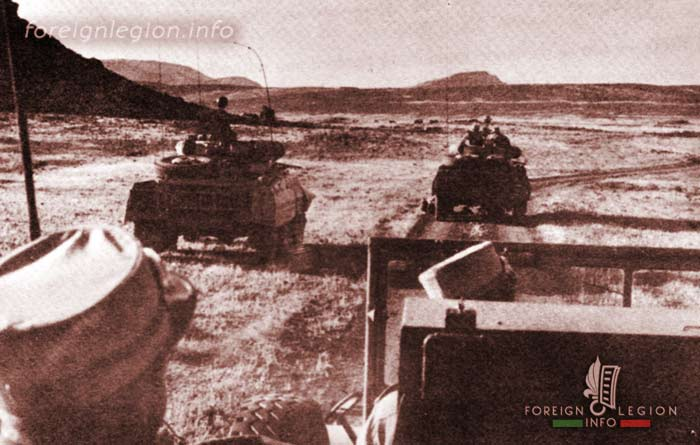 2 REI - 2REI - 2nd Foreign Infantry Regiment - 2nd REI - Legion - Algeria - operation 1959