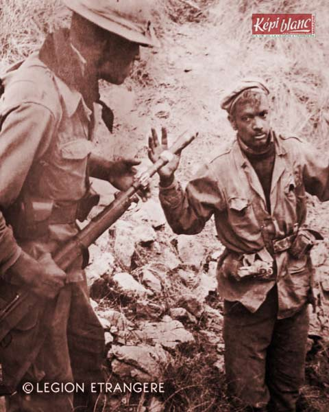 2 REI - 2REI - 2nd Foreign Infantry Regiment - 2nd REI - Legion - Algeria - Djebel Chemarikh 1960