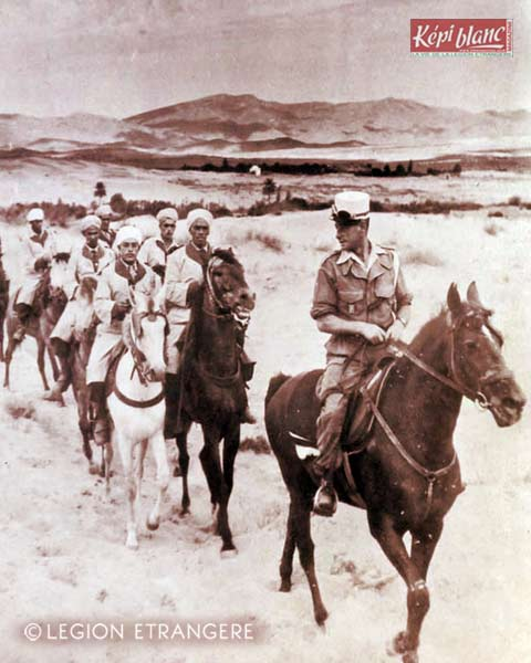2 REI - 2REI - 2nd Foreign Infantry Regiment - 2nd REI - Legion - Algeria - Harka 1960