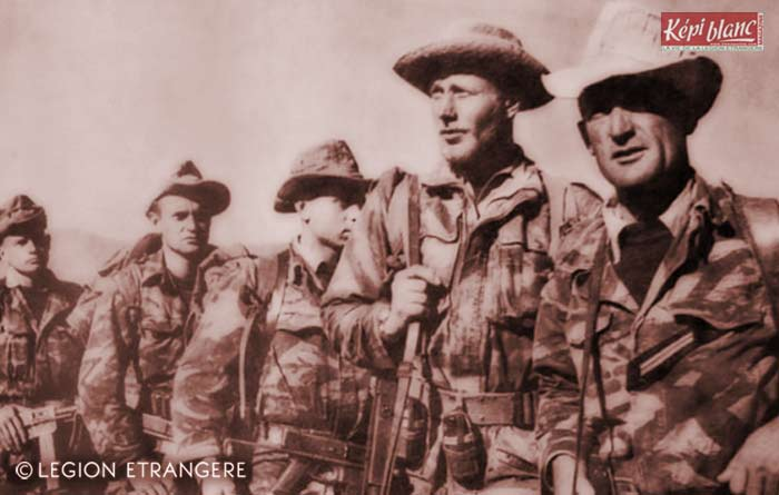 2 REI - 2REI - 2nd Foreign Infantry Regiment - 2nd REI - Legion - Algeria - Djebel Beni Smir - Sergent Sanchez 1960
