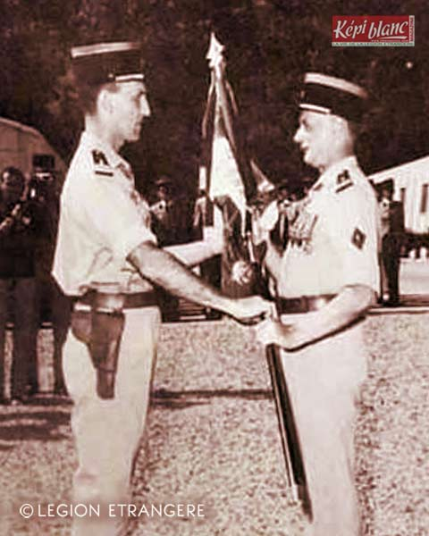 2 REI - 2REI - 2nd Foreign Infantry Regiment - 2nd REI - Legion - Corsica - Corte 1972