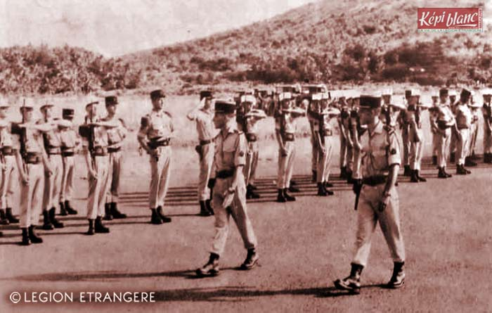 2 REI - 2REI - 2nd Foreign Infantry Regiment - 2nd REI - Legion - Mayotte - GOLE 1975