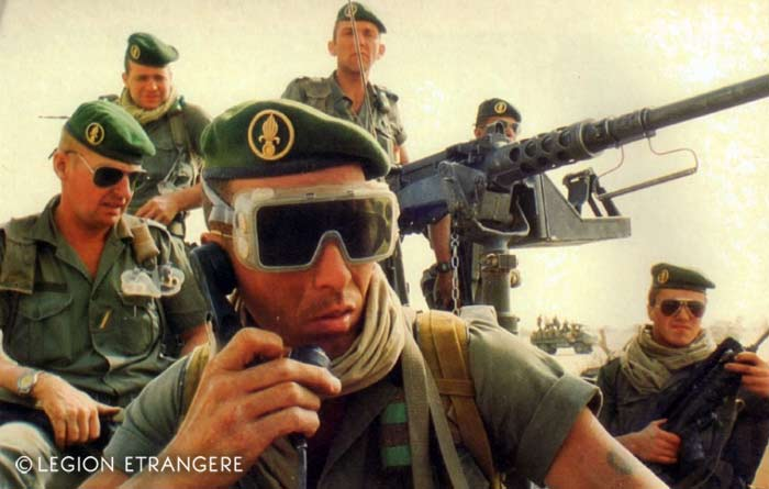 2 REI - 2REI - 2nd Foreign Infantry Regiment - 2nd REI - Legion - Chad - Operation Epervier 1987