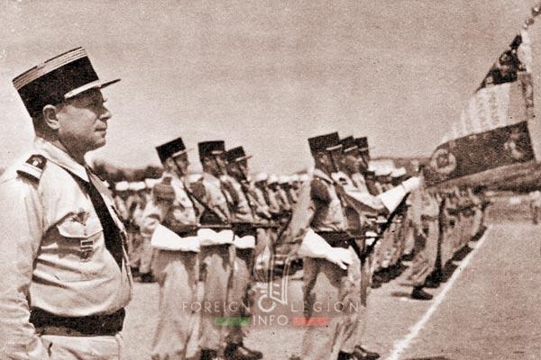 2e REP - 2 REP - Masselot - Drapeau - Flag - 1956