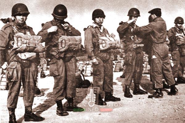 2e REP - 2 REP -  Foreign Legion Etrangere - Paratroopers - 1956