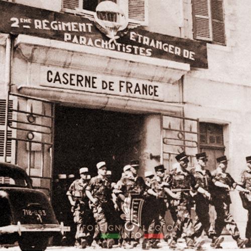 2e REP - 2 REP - Philippeville - Caserne de France - 1956